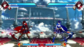 Simak Aksi Ruby Rose di 'BlazBlue: Cross Tag Battle'