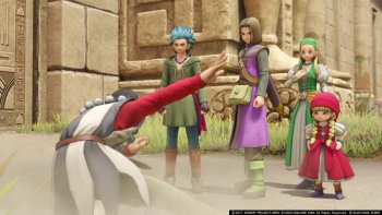 'Dragon Quest XI' Versi Nintendo Switch Gunakan Unreal Engine 4
