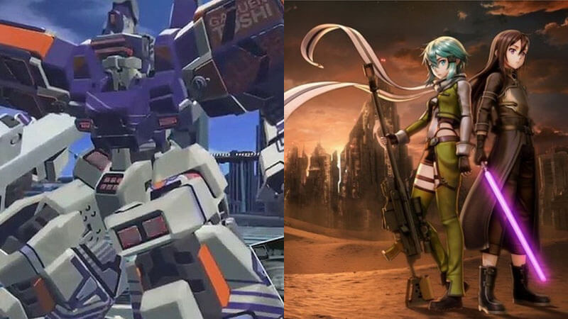 Dengeki Pamerkan Gameplay 'To Aru Majutsu no Virtual-On' & 'Sword Art Online: Fatal Bullet'