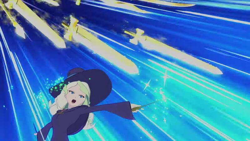 Tayangkan Trailer Ke-2, 'Little Witch Academia: Chamber of Time'  Siapkan Fitur Co-Op