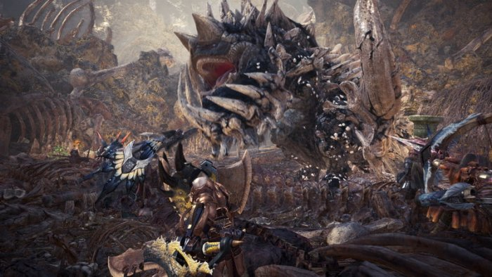 Capcom Pamerkan Gameplay Area Rotten Vale dari 'Monster Hunter: World'