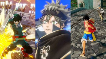 Trailer Versi Inggris 'Boku no Hero Academia: One's Justice,' 'Black Clover: Quartet Knights,' & 'One Piece: World Seeker' Ditayangkan