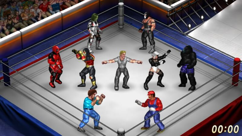 Siap Hadir di PS4, 'Fire Pro Wrestling World' Umumkan Kolaborasi New Japan Pro-Wrestling