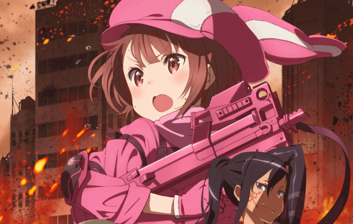 Tonton 'Sword Art Online: Alternative Gun Gale Online' Sambil Nikmati Pizza Keju