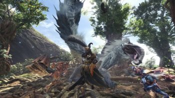 'Monster Hunter: World' Dapatkan Day One Update