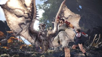 'Monster Hunter: World' Dapatkan Kolaborasi Street Fighter V