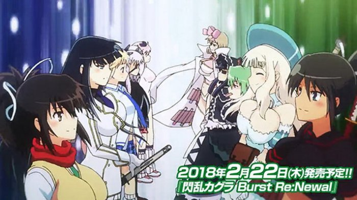 Video Opening 'Senran Kagura Burst Re:Newal' Ditayangkan
