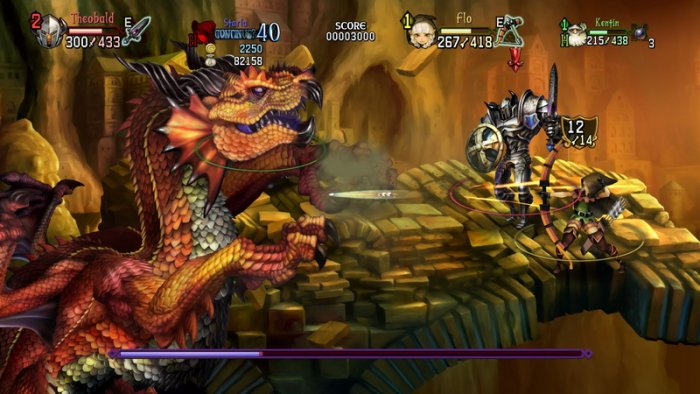 'Dragon's Crown Pro' Tayangkan Trailer Co-Op