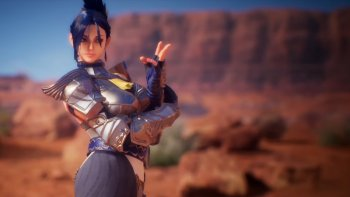 'Fighting EX Layer' Pamerkan Aksi Blair, Jack, dan Shadowgeist di Trailer Terbaru