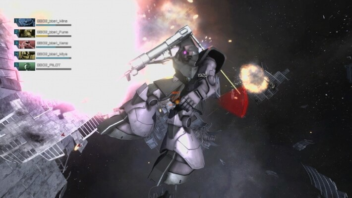 'Mobile Suit Gundam: Battle Operation 2' Pamerkan Gameplay di Luar Angkasa