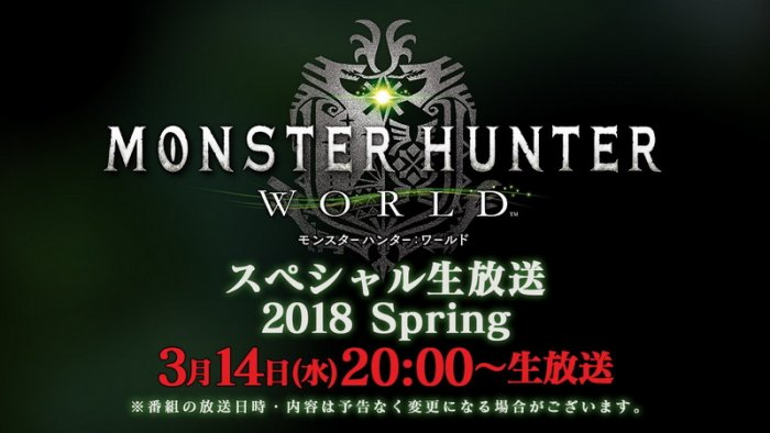 Sambut Musim Semi, 'Monster Hunter: World' Siapkan Livestream Khusus