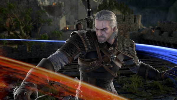 Produser CD Projekt RED Jabarkan Gameplay Geralt di 'Soul Calibur VI'