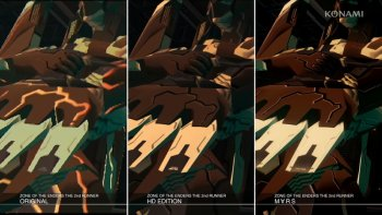 'Zone of the Enders: The 2nd Runner Mars' Tayangkan Trailer Perbandingan