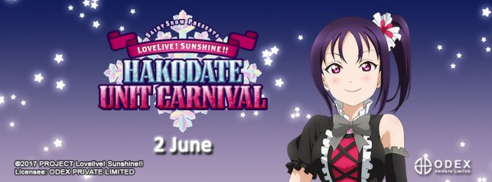 ODEX Indonesia Mengumumkan Delayed Viewing Event Love Live Sunshine! Hakodate Unit Carnival
