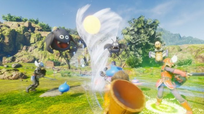 Simak 2 Menit Video Gameplay 'Dragon Quest VR'