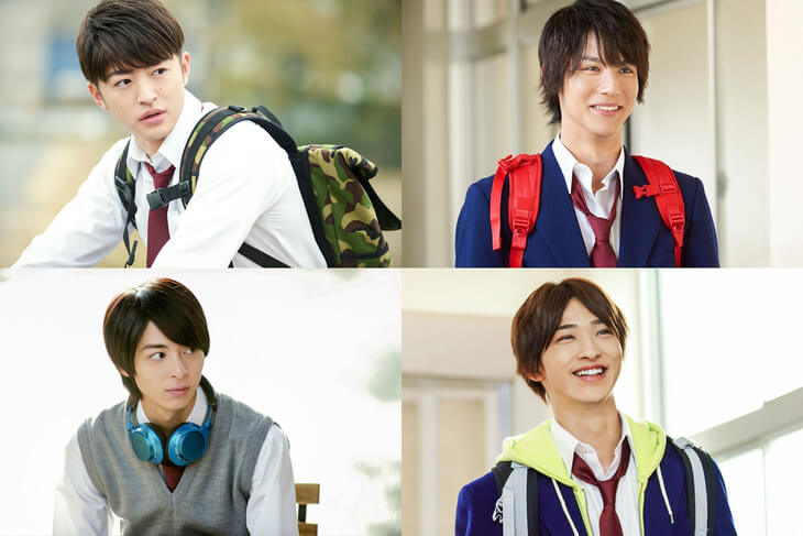 Nijiiro Days Live Action Cast