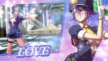 Lihat Aksi Love Heart di 'SNK: Heroines Tag Team Frenzy'