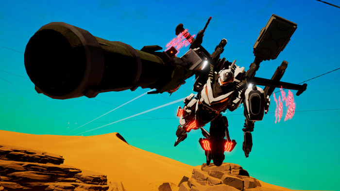 Marvelous Umumkan 'Daemon x Machina' untuk Switch