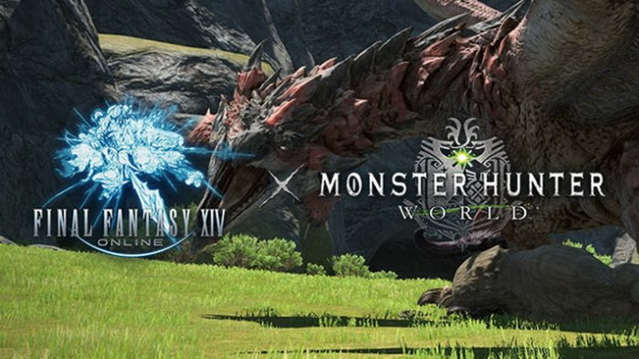 Kolaborasi 'Final Fantasy XIV x Monster Hunter: World' Diumumkan