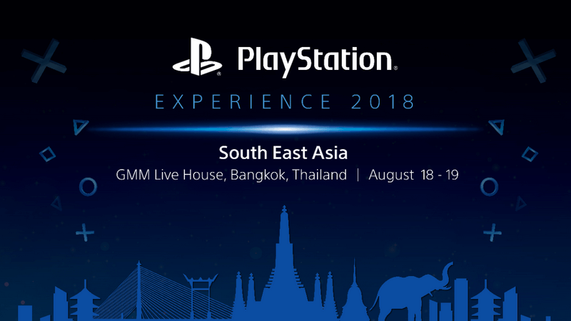 PlayStation Experience 2018 South East Asia Siap Berlangsung di Thailand