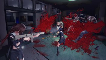 'School Girl/Zombie Hunter' Tiba-tiba Rilis di PC