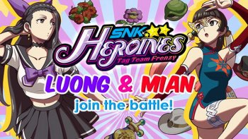 'SNK Heroines: Tag Team Frenzy' Tambahkan Luong & Mian