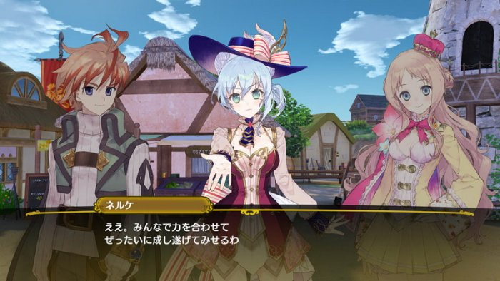 'Nelke and the Legendary Alchemists' Detilkan Alur Bangun Kota