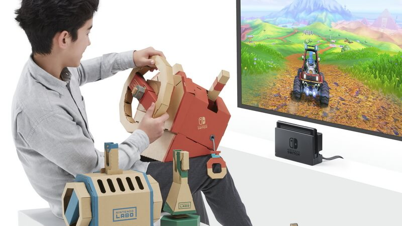 Nintendo Labo Baru Ke-3 Adalah 'Toy-Con 03: Vehicle Kit'