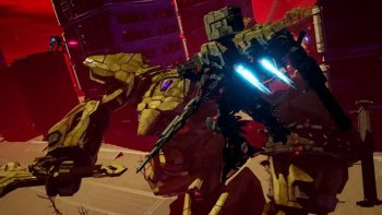 Simak Trailer Baru 'Daemon x Machina' di Gamescom 2018