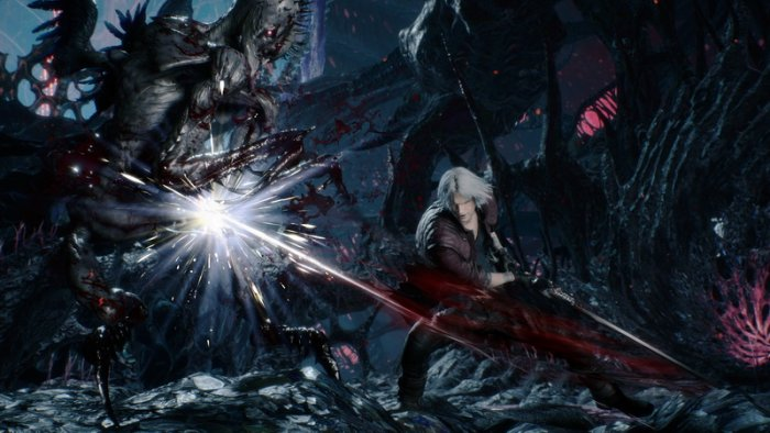 Simak Gameplay Dante di 'Devil May Cry 5' dari TGS 2018