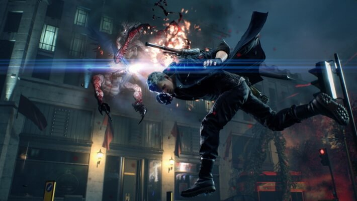 Latihan Combo di 'Devil May Cry 5' Lewat The Void