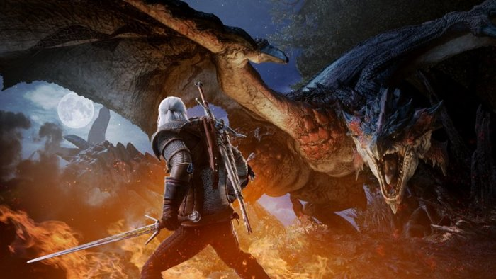 Kolaborasi 'Monster Hunter: World x The Witcher 3' untuk Konsol Rilis Awal Februari
