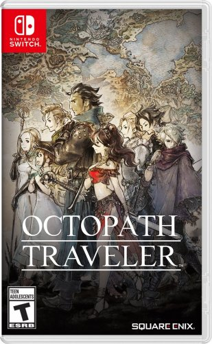 Octopath Traveler Cover Game