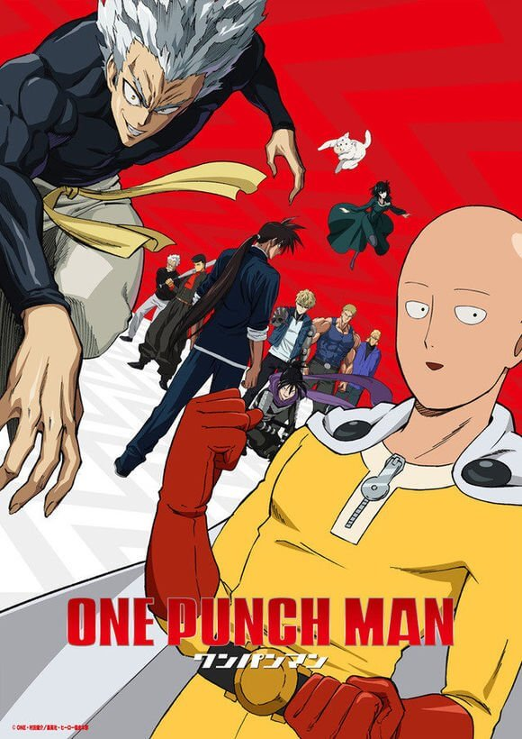one punch man visual